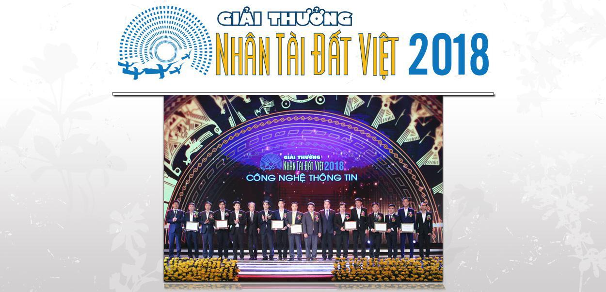 Giải thưởng Nhân tài Đất Việt 2018