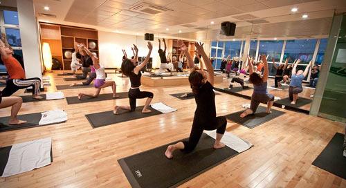 Phần mềm Gym giúp người dùng thoải mái tập luyện.
