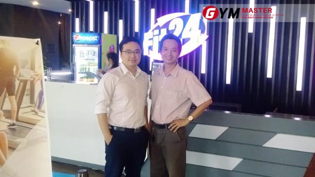 Triển khai thành công phần mềm quản lý phòng tập Gym Master cho Fit24 _ Thanh Hóa